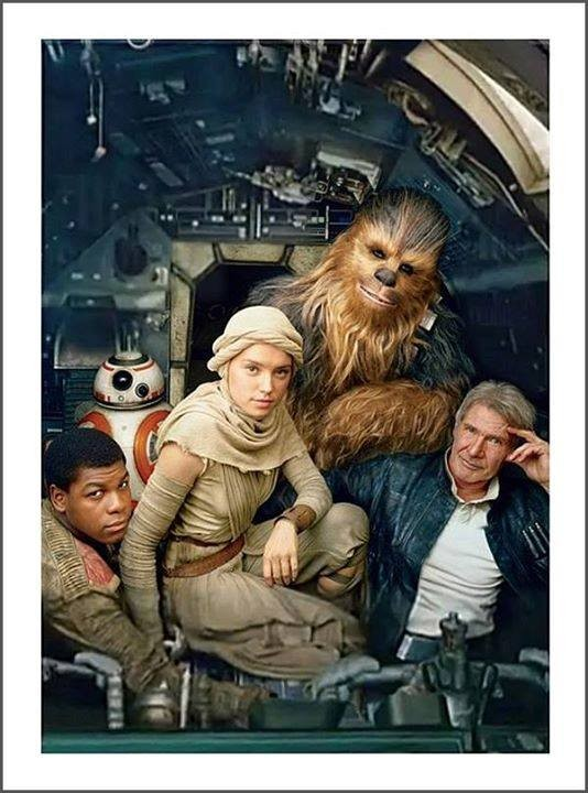 Set Photos from Star Wars The Force Awakens