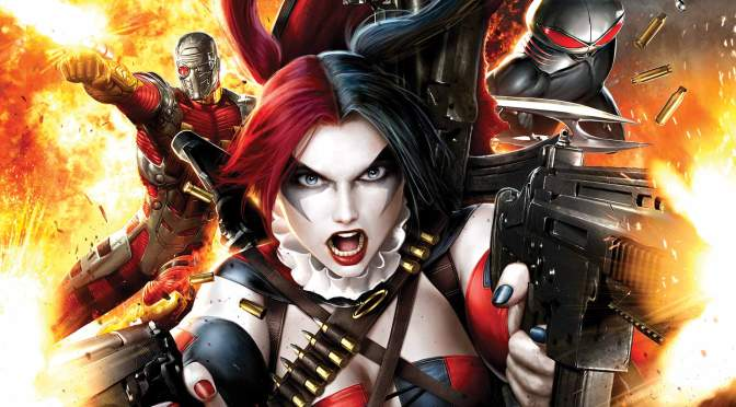 Suicide Squad Cast Photo in Costume and Will Smith's Deadshot