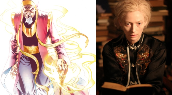 Tilda Swinton  In Talks For Doctor Strange