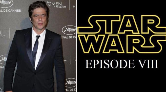 Benicio Del Toro In Talks for Villain in Star Wars Episode VIII