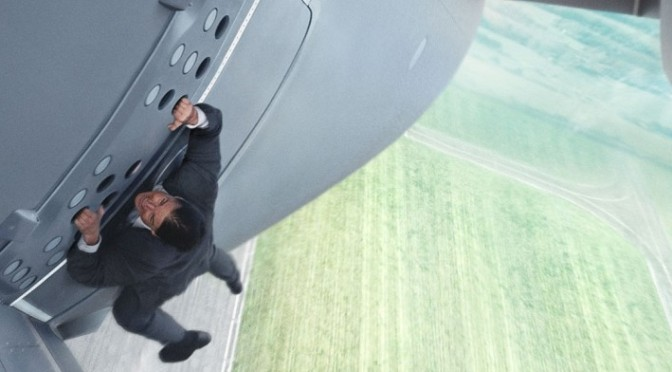 Featurette: Tom Cruise's Mission Impossible Airplane Stunt