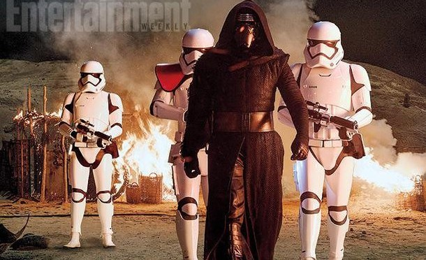 Lots of Star Wars: The Force Awakens Photos and Info on Kylo Ren
