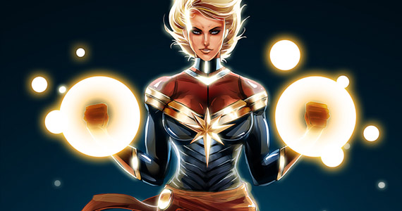 Is This Marvel's Top Choice to Play Captain Marvel?