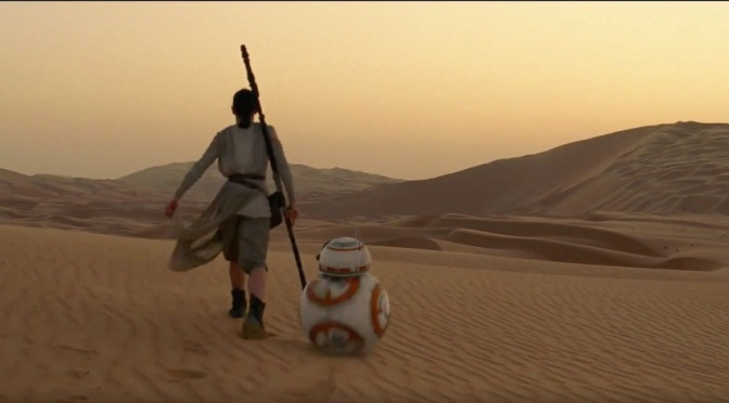 Screenshots from Star Wars Episode VII: The Force Awakens Trailer