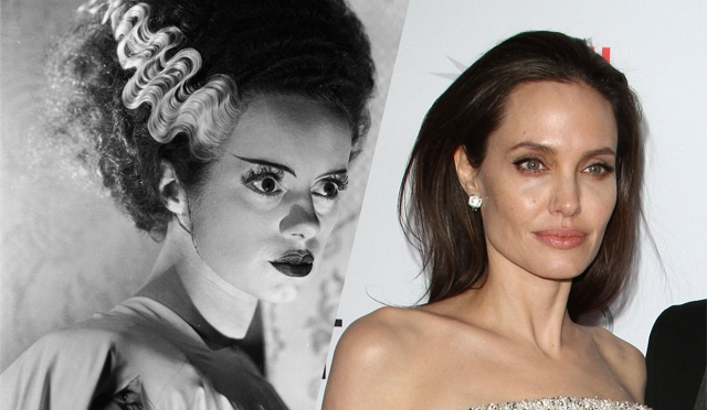 Universal Eyes Angelina Jolie for Bride of Frankenstein Remake