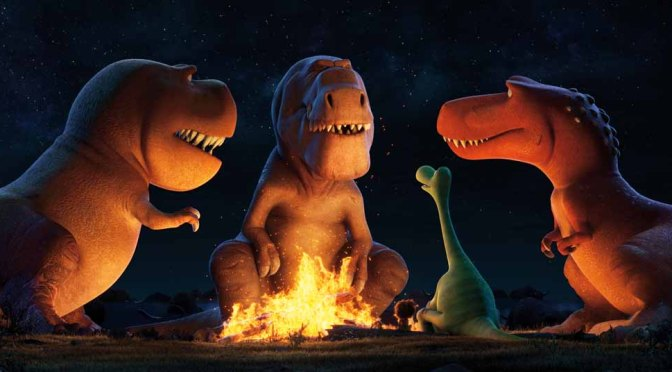 Clips From Pixar's The Good Dinosaur Showcasing Butch the T. Rex