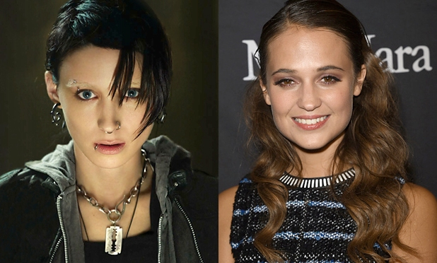 Alicia Vikander Is Front Runner to Replace Rooney Mara in Girl With the Dragon Tattoo