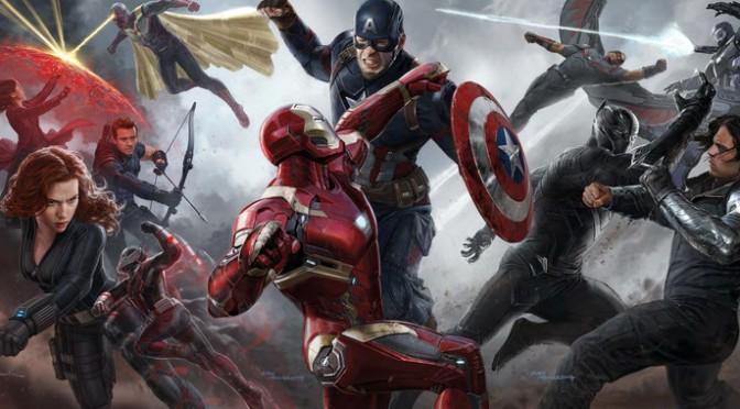 New Captain America: Civil War Character Posters