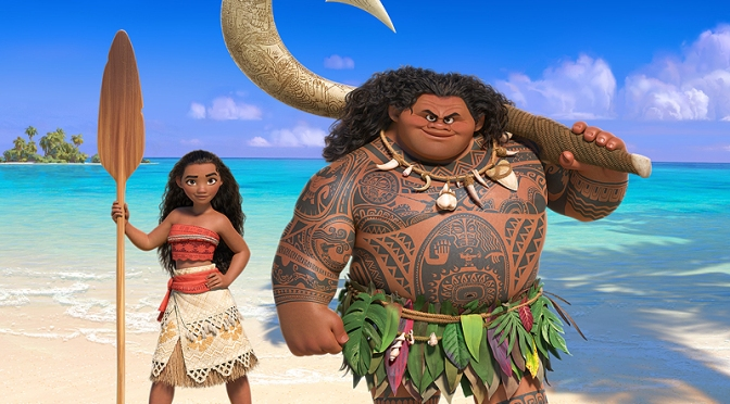 First Footage From Disney's Moana