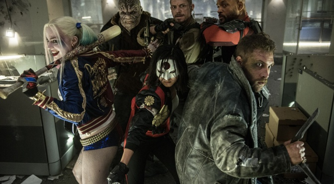 Suicide Squad Group and Individual Character Posters