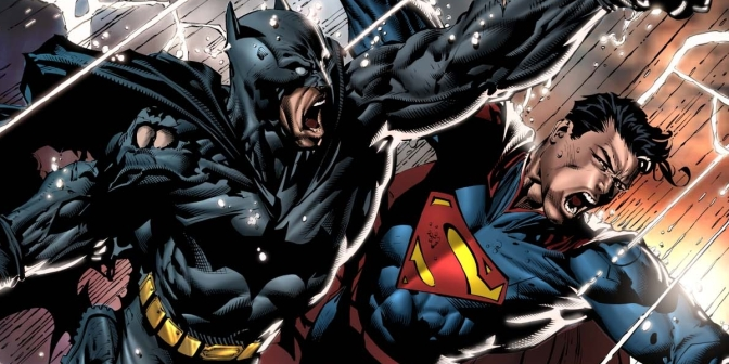 Batman and Superman Fight in First BvS Clip and Snyder Discusses Movie