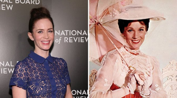 Emily Blunt in Talks to Star as Mary Poppins in Sequel