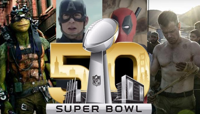 All the Movie Trailers that Played During the Super Bowl