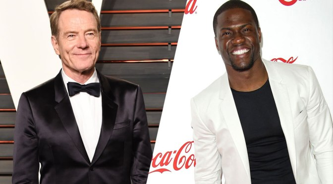 Kevin Hart and Bryan Cranston Circling The Intouchables Remake
