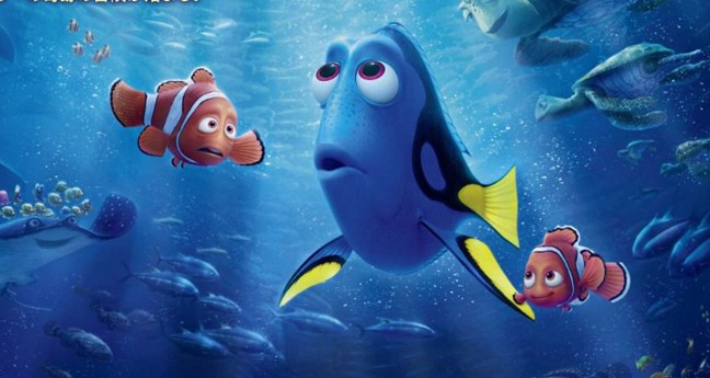 New Character Images from Pixars Finding Dory
