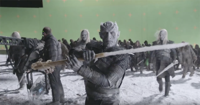 Game of Thrones Featurette Gives Us a Look at the White Walkers