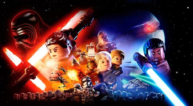 Four LEGO Star Wars Prequel Films