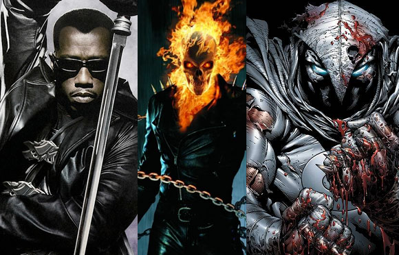 Netflix/Marvel Possibly Developing Blade, Ghost Rider and Moon Knight Series
