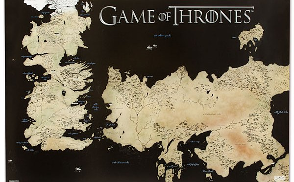 Game of Thrones Season 6 Map