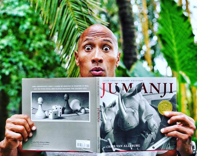 Dwayne Johnson Talks Jumanji and Honoring Robin Williams