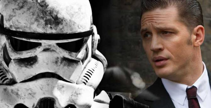 Rumor: Could Tom Hardy be a Stormtrooper in Star Wars Episode VIII?