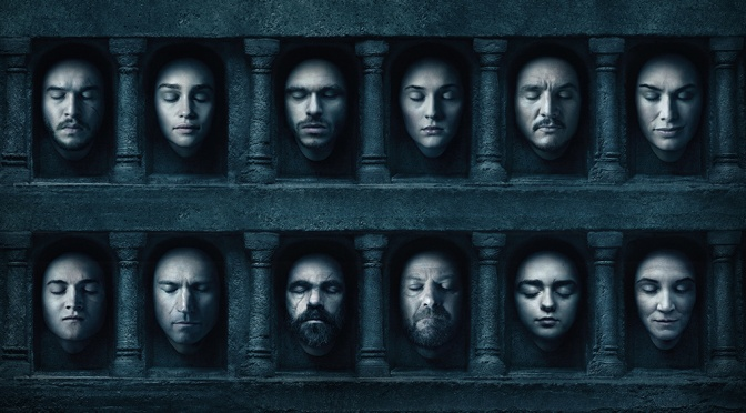 Game of Thrones Character Relationship Infographic
