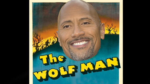Universal's The Wolf Man Courting Dwayne Johnson