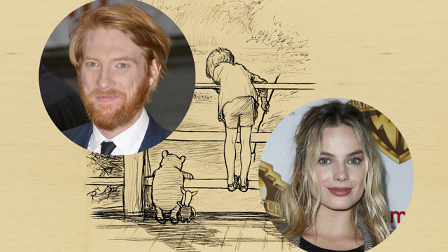 Domhnall Gleeson and Margot Robbie Confirmed to Join Goodbye Christopher Robin