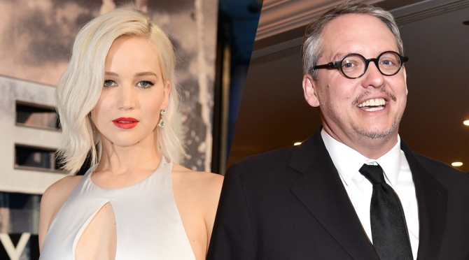Jennifer Lawrence Joins Adam McKay Film About Elizabeth Holmes