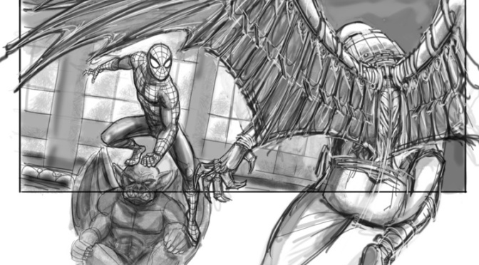 Storyboard Art Revealed for Spider-Man 4 That Never Happened