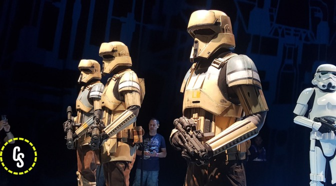Star Wars Celebration: Costumes and Vehicle Models from Rogue One