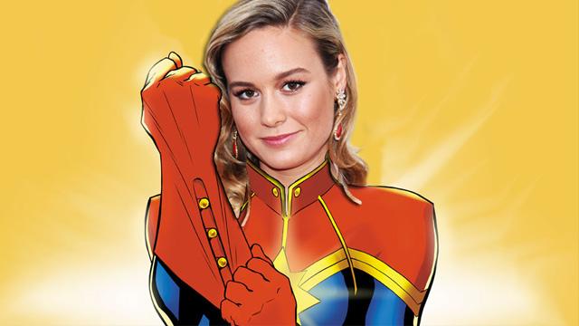 SDCC: Brie Larson Confirmed as Captain Marvel