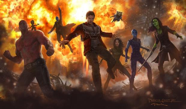 SDCC: Images and Descriptions From Guardians of the Galaxy Vol. 2 Comic Con Panel