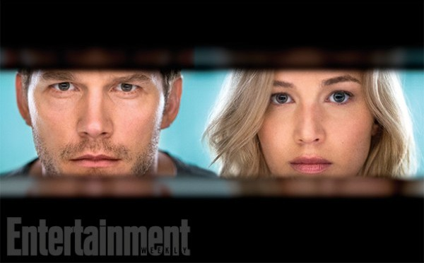 First Images From Passengers Starring Jennifer Lawrence and Chris Pratt
