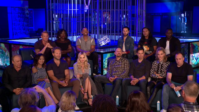 Video: Suicide Squad Press Conference