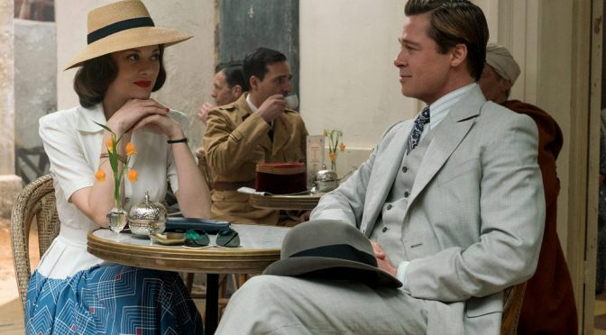 Trailer for Allied Starring Brad Pitt and Marion Cotillard