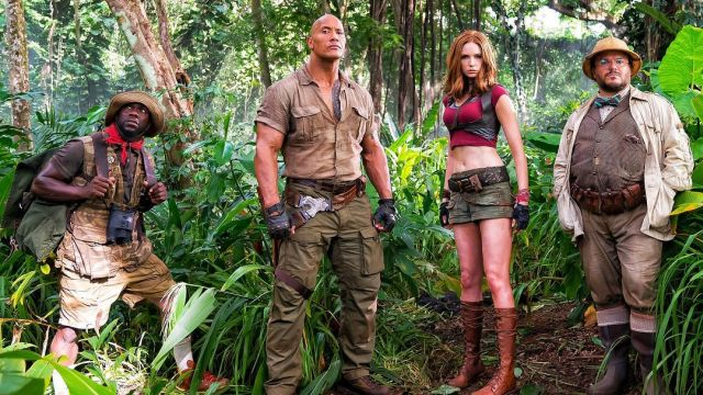 Set Photos and Videos for Jumanji