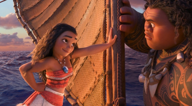 New Trailer and Poster for Disney's Moana