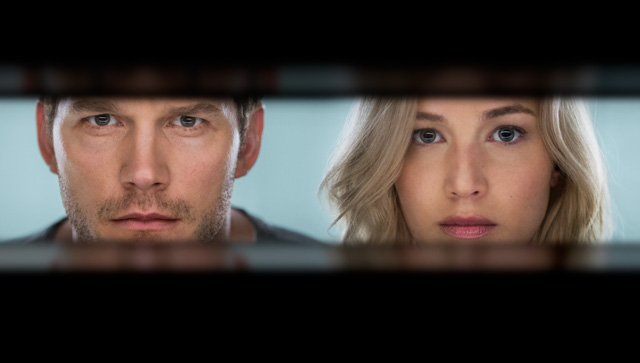 Trailer for Passengers with Jennifer Lawrence and Chris Pratt