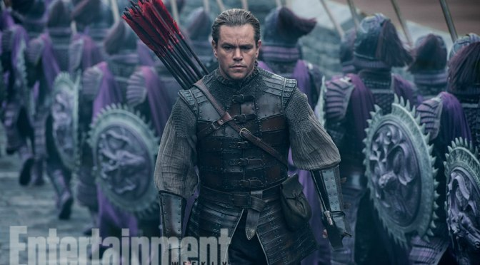 NYCC: Trailer for The Great Wall Feat. Matt Damon