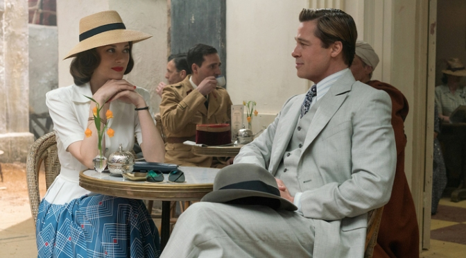 New Trailer for Allied Feat. Brad Pitt and Marion Cotillard