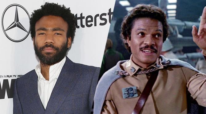 Donald Glover to Play Lando in Han Solo Movie