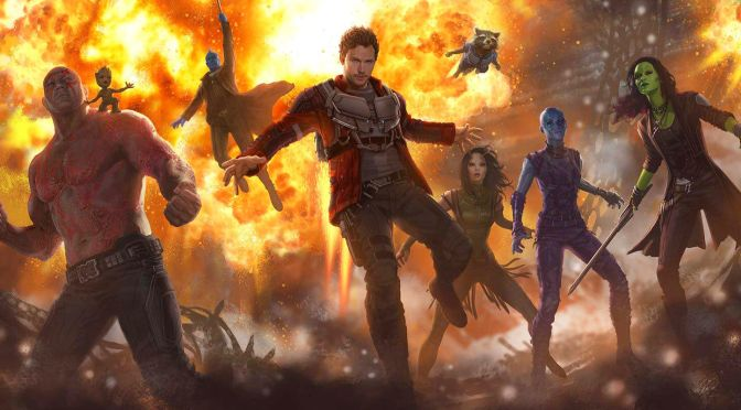 Guardians of the Galaxy News: Elder in Vol. 2, Quill's Major Role in Infinity Wars and Theme Park Ride