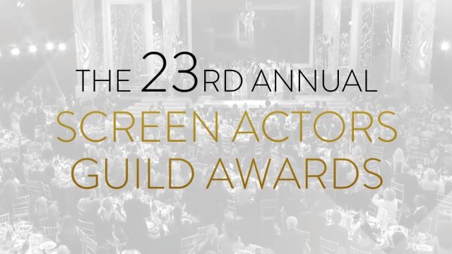 Nominees for 23rd Annual Screen Actors Guild Awards