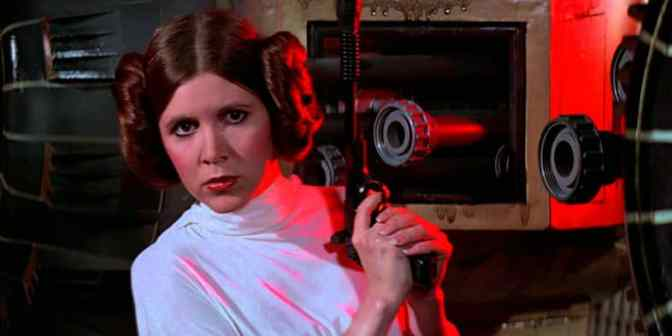 Carrie Fisher Star Wars Audition Tape