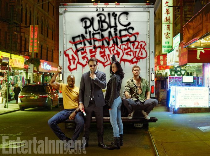 Complete Coverage of Marvel/Netflix's The Defenders from EW