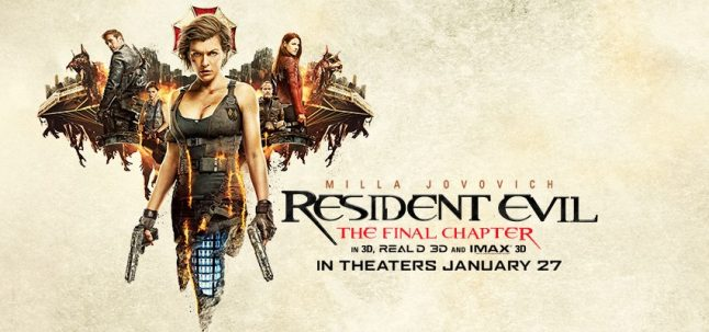 Interactive Video Promo for Resident Evil: The Final Chapter