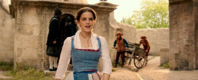 "Clip of Emma Watson Singing ""Belle"" (Little Town) from Beauty and the Beast"