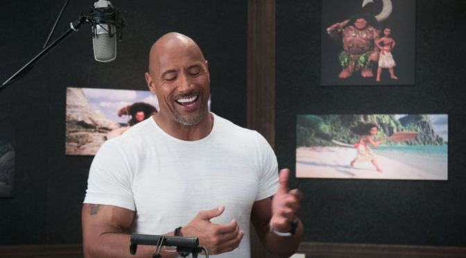 "Dwayne Johnson Singing ""You're Welcome"" from Moana"