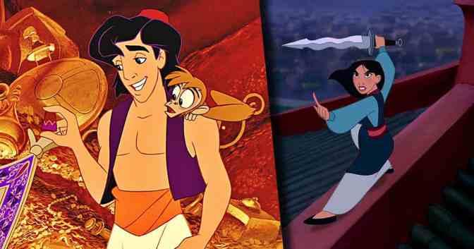 Updates for Disney's Mulan and Aladdin Adaptations